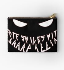 Fate smiles with sharp teeth Studio Pouch