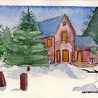 Christmas post-card #2 by Kostas Koutsoukanidis