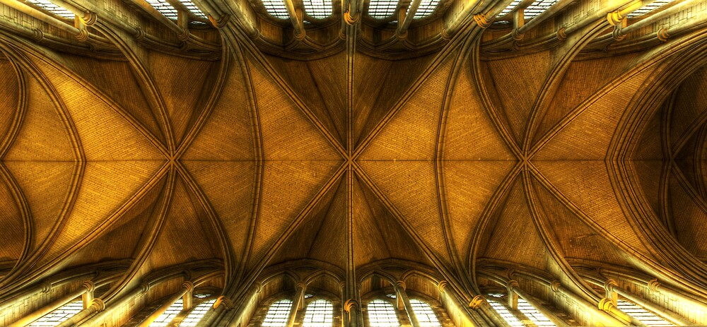 Truro Cathedral Ceiling by igotmeacanon