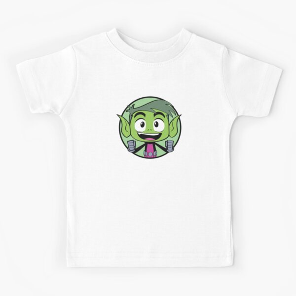 beast boy is happy Kids T-Shirt
