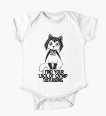 Darth Kitty Kids Clothes