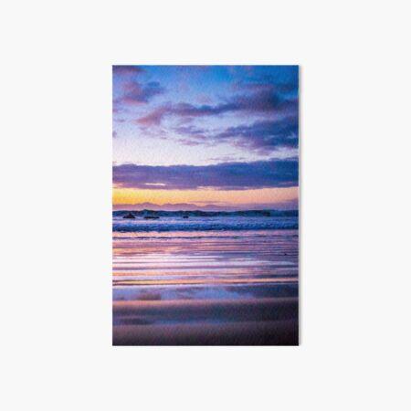 Dreamy sunrise Art Board Print