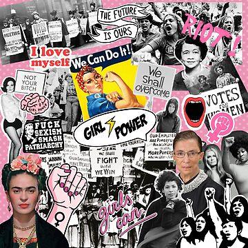Feminism collage  by ValentinaHramov
