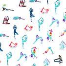 Yoga-Muster von Aurora Gritti