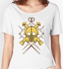 Tribal Gold Gasmask Women's Relaxed Fit T-Shirt