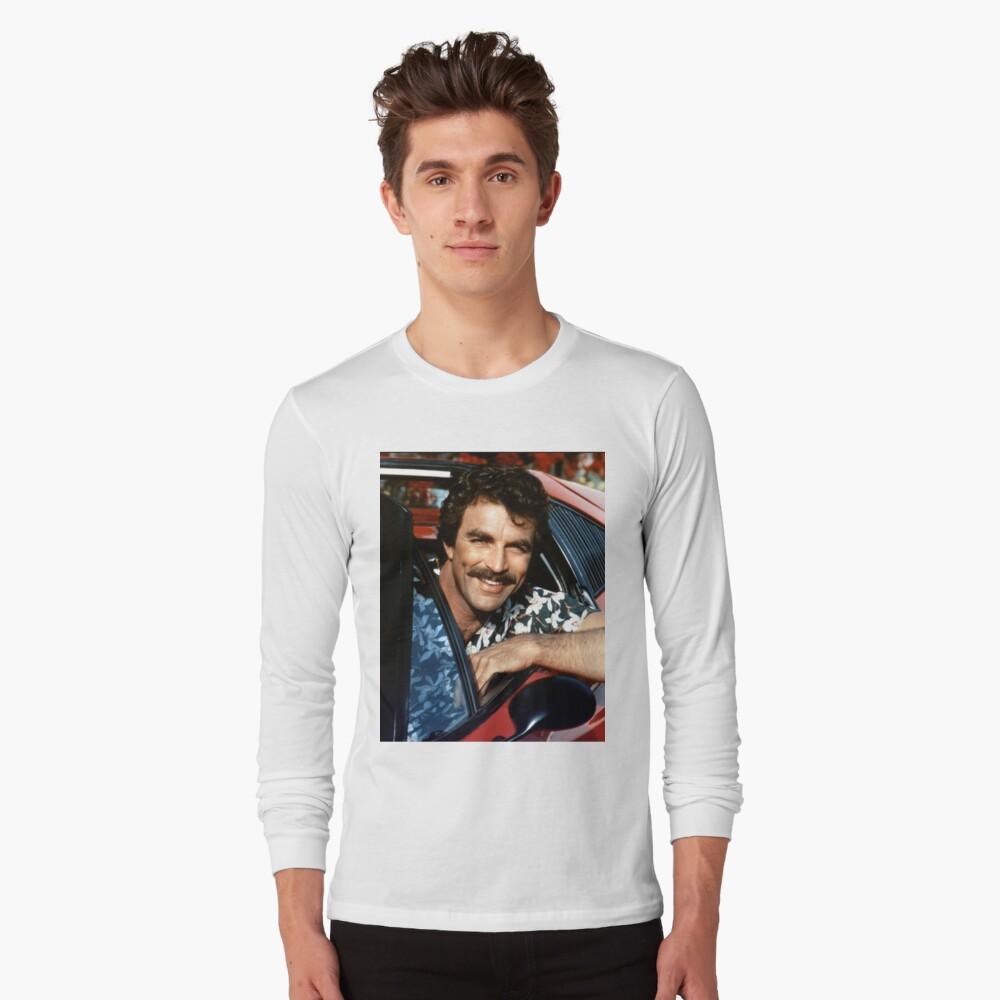 Thomas Magnum P.I Long Sleeve T-Shirt