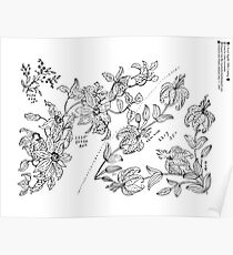 New Sample Book of Our Artistic Perforated Parchment Stamping Patterns Kate Greenaway, John Frederick Ingalls 1886 0227 Poster
