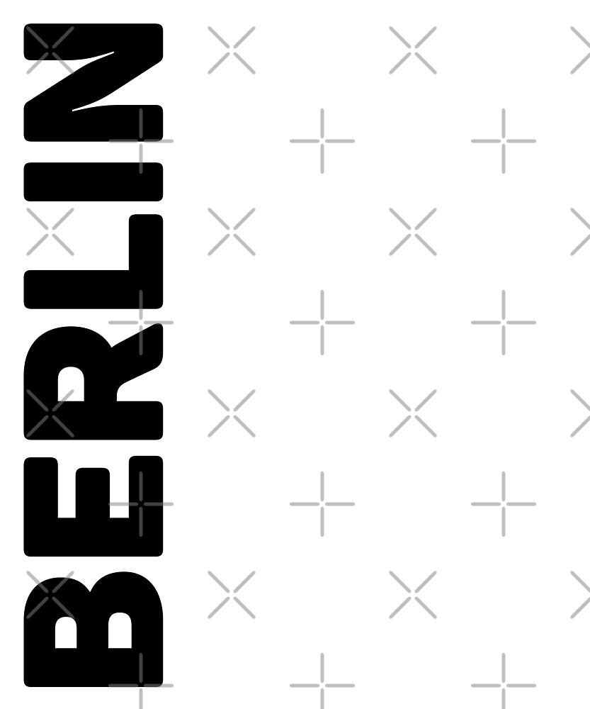 Berlin T-Shirt by designkitsch
