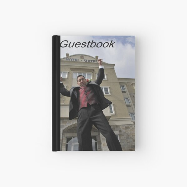 Please sign my Guestbook Hardcover Journal