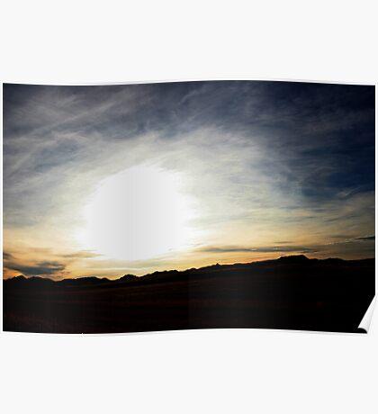 montana skies Poster