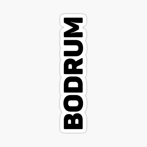 Bodrum Sticker