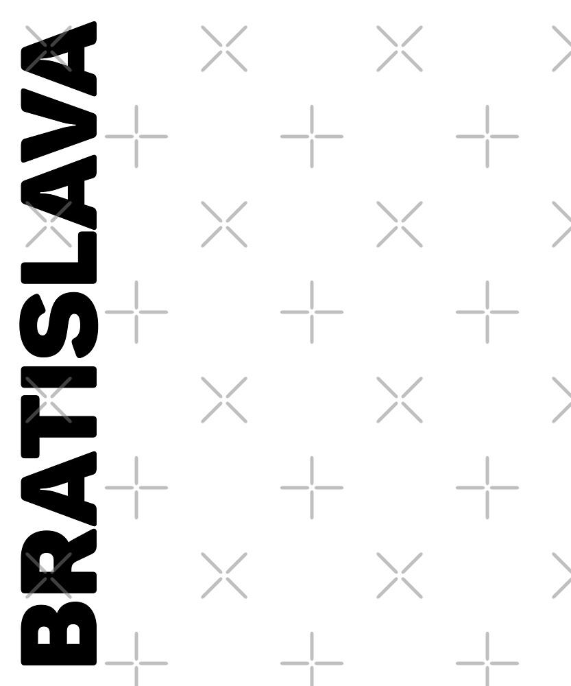 Bratislava T-Shirt by designkitsch