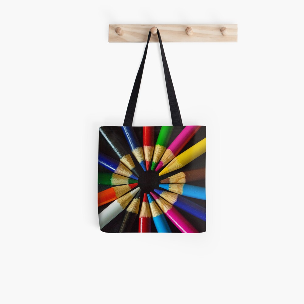 Coloured Wheel Tote Bag