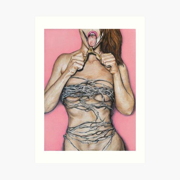 The Perfect Woman Art Print