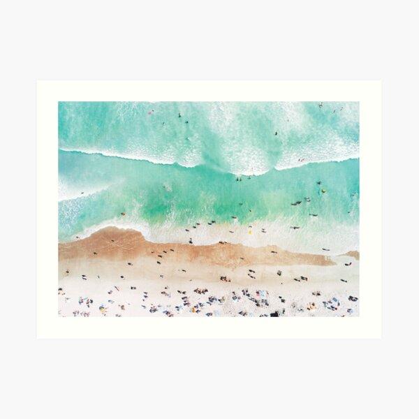 Beach Mood Art Print