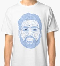 52d033c1a Klay Thompson triangle portrait Classic T-Shirt