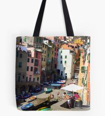Riomaggorie, Italy  Tote Bag