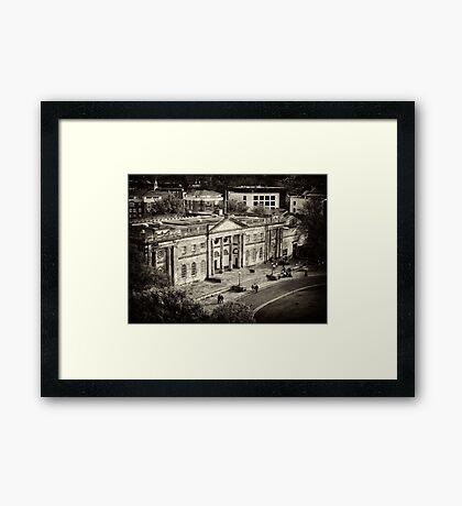 York Castle Museum - England Framed Print