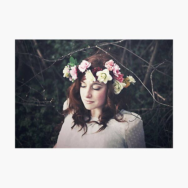 Want to pick up this flower Photographic Print