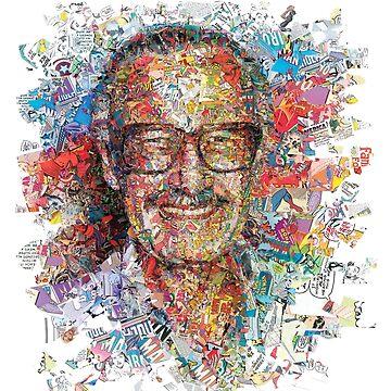 Stan Lee True Marvel Heroe by Grampus