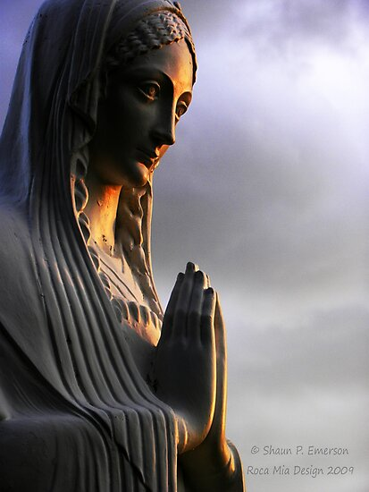 Say a Prayer (Madonna statue) by rocamiadesign