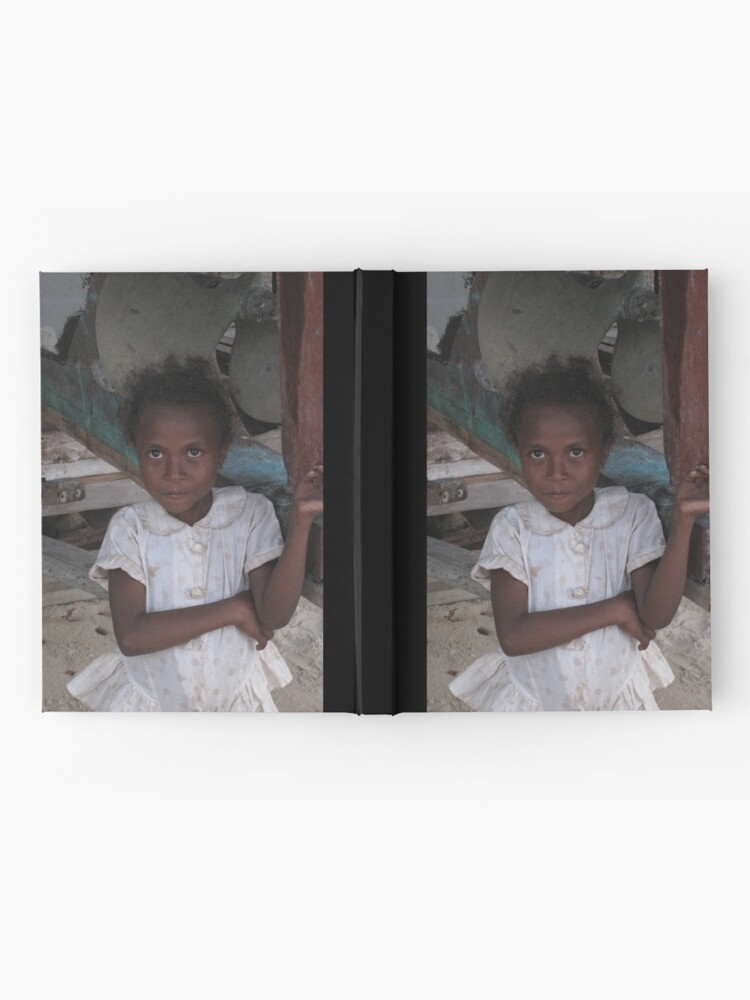 Alternate view of Girl at Nimoa Hardcover Journal