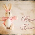 Easter Card With Texture by Martie Venter