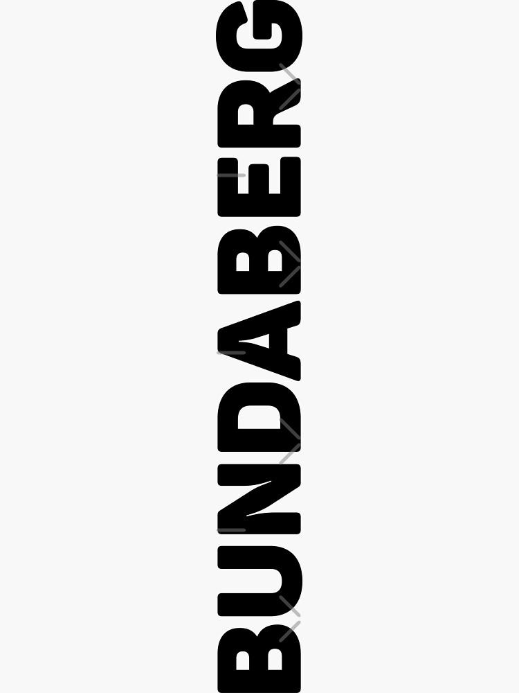 Bundaberg by designkitsch