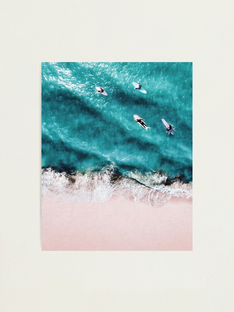 Alternate view of Pink Sand Photographic Print