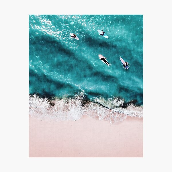 Pink Sand Photographic Print