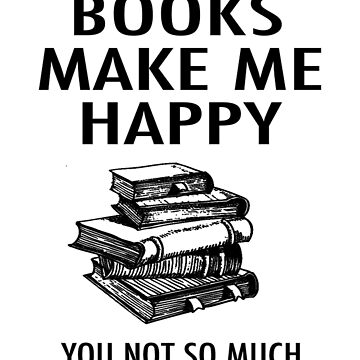 Books Make Me Happy de AAbi