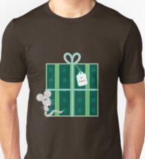 Little Mouse - Christmas Present Unisex T-Shirt