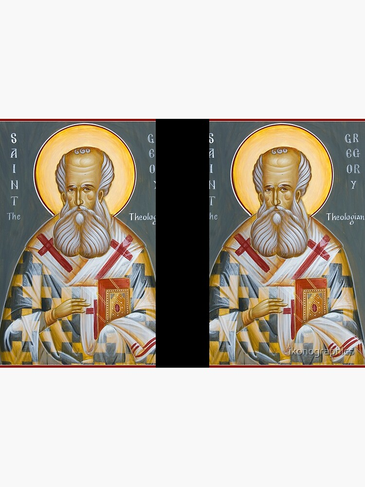 St Gregory the Theologian by ikonographics