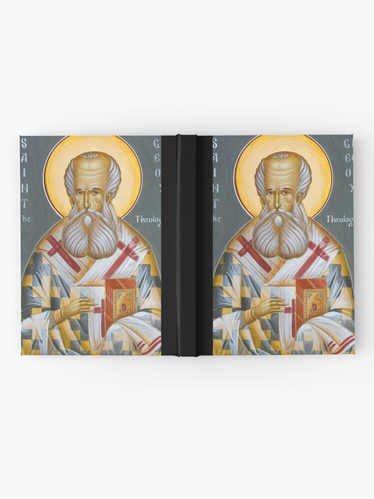 Alternate view of St Gregory the Theologian Hardcover Journal
