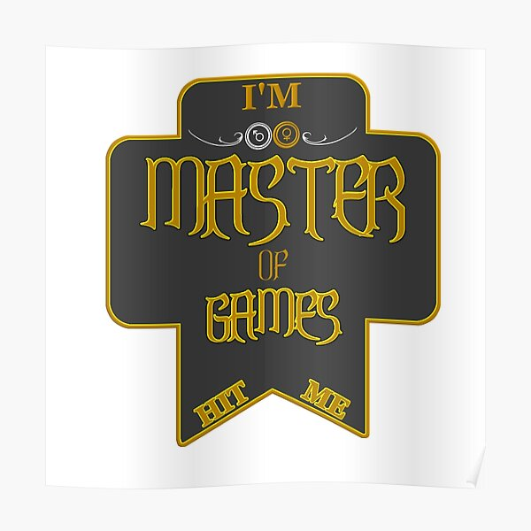 Master of Games Poster