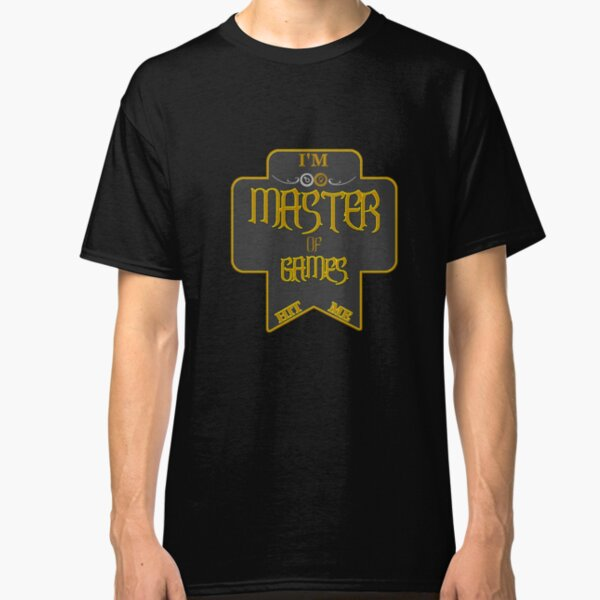 Master of Games Classic T-Shirt