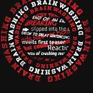Brainwashing Creative Typographic Style  by jazzworldquest