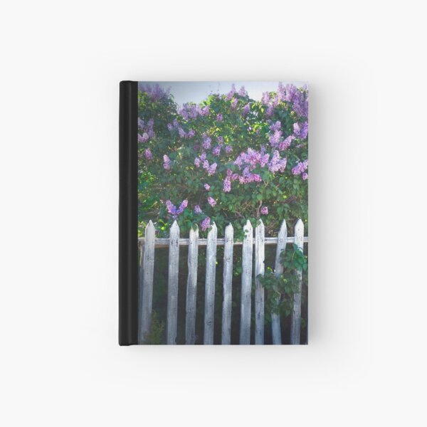 Lilac Fence Hardcover Journal