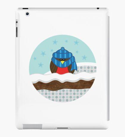 Wrapped-Up Warm Robin iPad Case/Skin