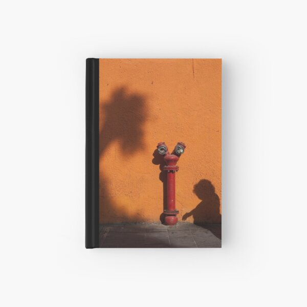 Red Hot Hardcover Journal