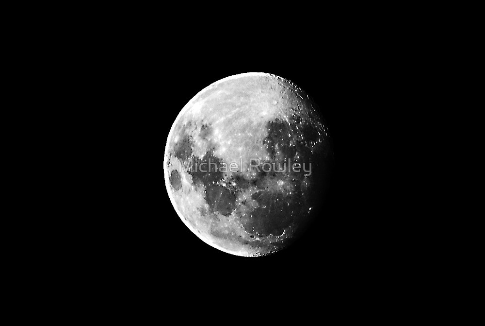 Moon 26 - 02 - 2010 by Michael Rowley
