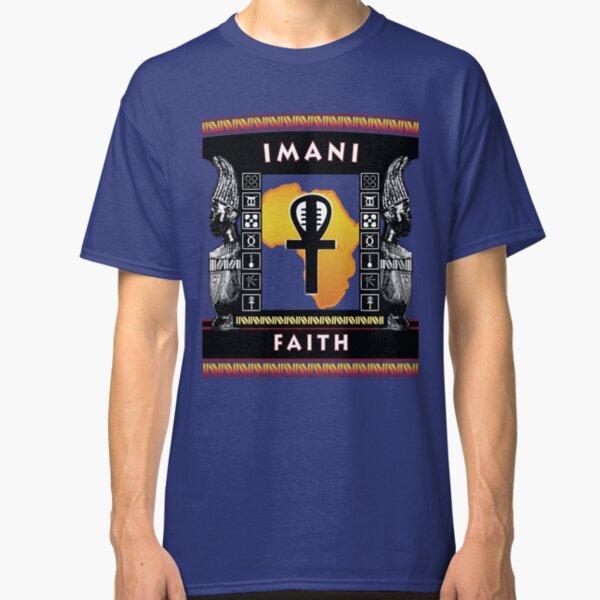 Nguzo Saba IMANI Classic T-Shirt