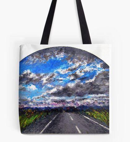 The Distance Between You and I... (panel #3) Tote Bag