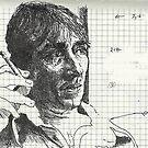 Ovation Sketchbook, Study of a Man by Cameron Hampton