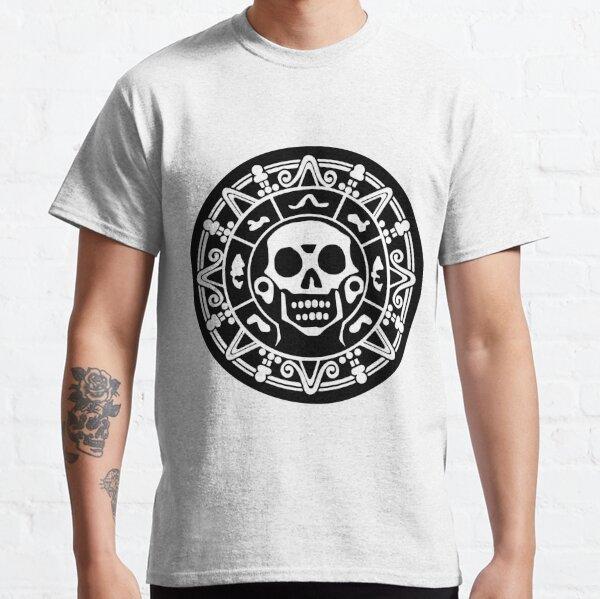 Schwarzweißmedaillon Classic T-Shirt