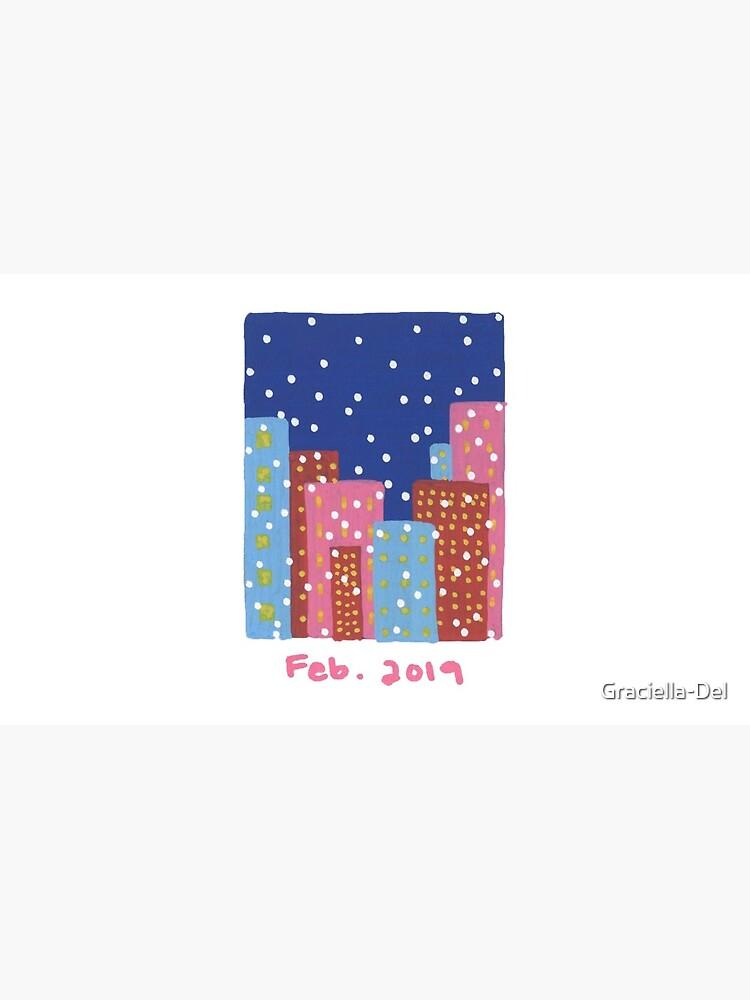 It's Snowing in February by Graciella-Del