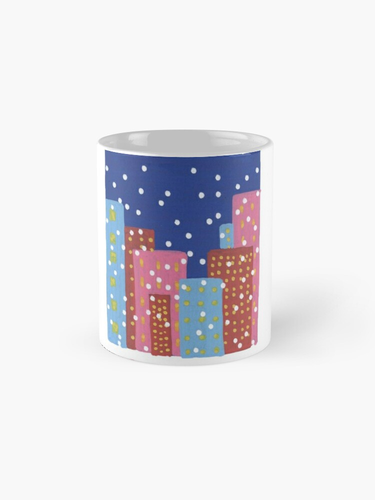 Alternate view of It's Snowing in February Mug