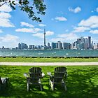 This is Toronto ... Ward Island View by Marilyn Cornwell
