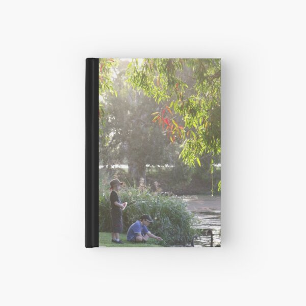 """Picnic  with nature-Baldwin swamp in Bundaberg"" Hardcover Journal"