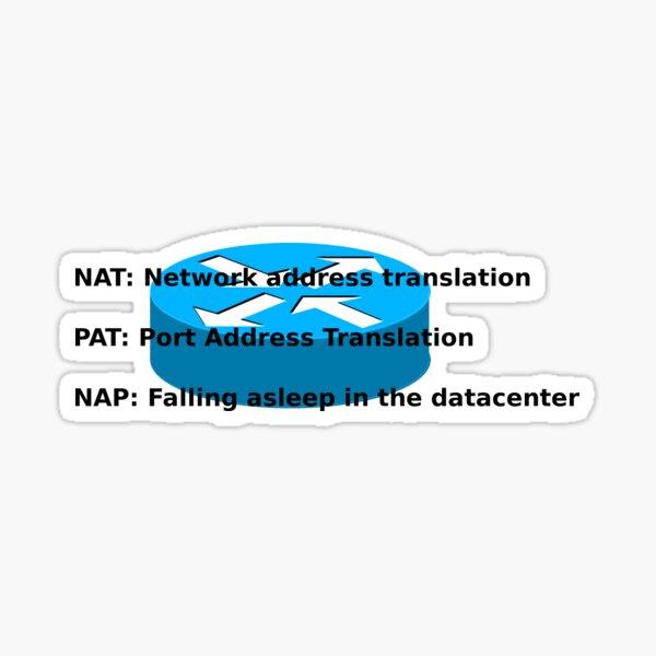 NAT, PAT and NAP. Sticker